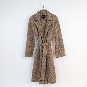 Akris Bergdorf Goodman Mid-Length Coat with Belt
